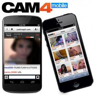 Cam4 Mobile para iPhone, iPad, Android, e muito mais!