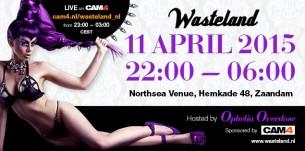 Evento Wasteland Party no Cam4
