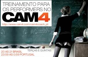 Treinamento para os Performers do Cam4 – Mês de Junho