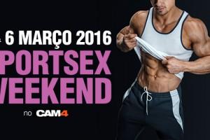 Maratona de shows temáticos de esporte no CAM4 nesse fim de semana