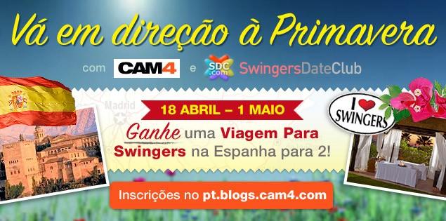 Swing na Primavera com CAM4 & Swingers Date Club