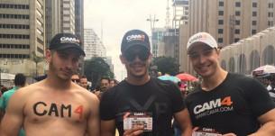 CAM4 na Parada do Orgulho LGBT de São Paulo