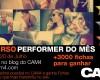 Ganhadores Concurso Performer do Mês de Junho/Julho no CAM4