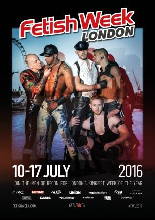 CAM4 patrocina a Semana do Fetiche em Londres 2016!