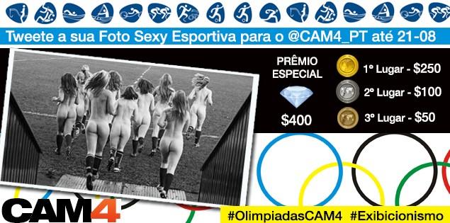 Olimpíadas no CAM4 – Vencedoras