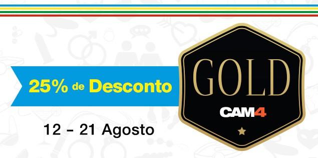 Celebre as #Olimpiadas com 25% de desconto no GOLD!