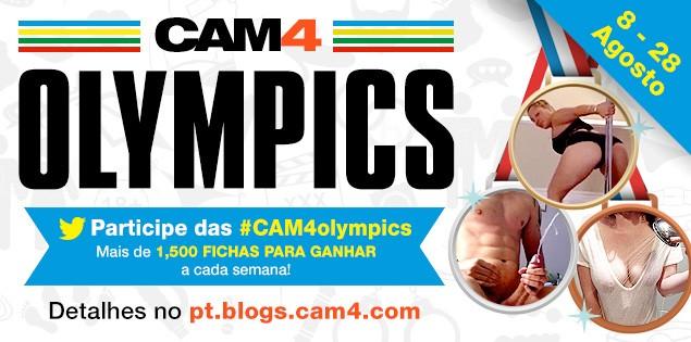 Ganhadores da semana Wet n Wild das Olimpíadas do CAM4