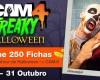 Freaky Halloween no CAM4: 24 a 31 de Outubro