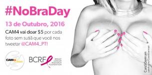 Participe do NoBraDay OutubroRosa: Tweet sua foto para o @CAM4_PT