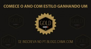 Comece 2017 com estilo ganhando o Gold por um ano no CAM4 – Ganhador