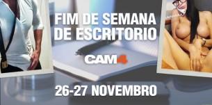 Programação de Shows #escritório no CAM4 nesse fim de semana