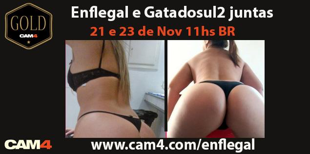 Super Show Gold especial com 2 camgirls brasileiras