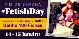 Celebre o #FetishDay no CAM4