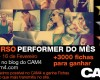 Concurso Performer do Mês Janeiro – 3000 Fichas em Prêmios