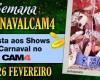 Agenda de Shows de Carnaval - #CarnavalCam4