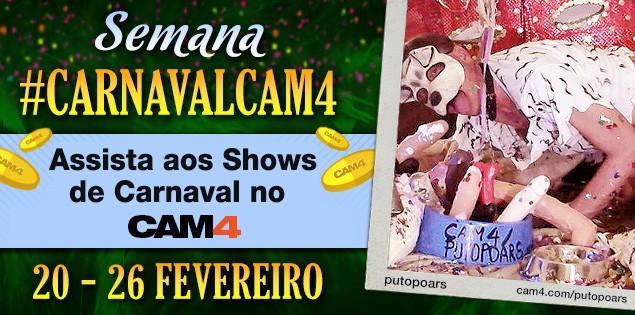 Agenda de Shows de Carnaval – #CarnavalCam4