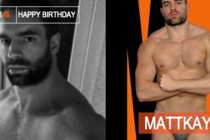 Mês de Aniversário do Performer MattKayd