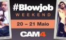 Uma Festa de shows de Sexo Oral nesse fim de Semana : #BLOWJOB WEEKEND