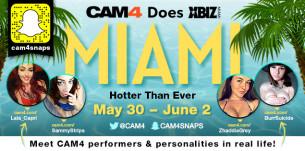 CAM4 está no XBIZ Awards em Miami!