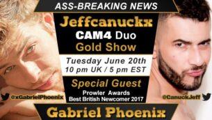 Um espetáculo imperdível: JEFFCANUCKX PHOENIX & GABRIEL