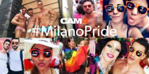 CAM4 GAY PRIDE: o desfile alegre e sexy e a Galeria Pride em Milão