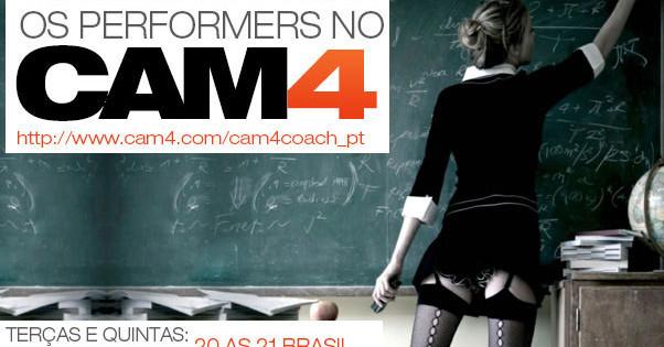 Calendário de Treinamento dos Performers do mês de Outubro