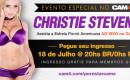 Show Especial com a Estrela Pornô Americana Christie Stevens
