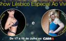 Show lésbico Inédito com duas Italianas Gostosas no CAM4