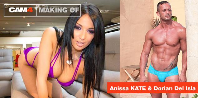 Assista a filmagem ao vivo de um filme pornô de LalyProd com Anissa Kate & Dorian Isla: 3 Agosto 5-14hs!