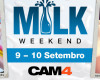 MILK WEEKEND no CAM4! 9 e10 de Setembro