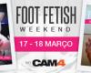FOOT FETISH WEEKEND – 17-18 Março - Fetiche por Pés