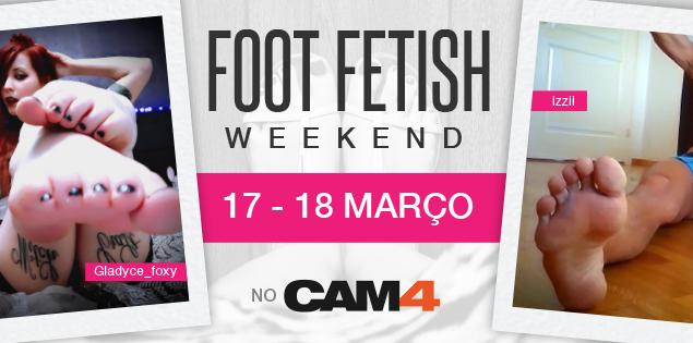 FOOT FETISH WEEKEND – 17-18 Março – Fetiche por Pés
