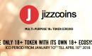 Criptomoeda é Sexy: Compre JizzCoins e ganhe 100 Coins Grátis