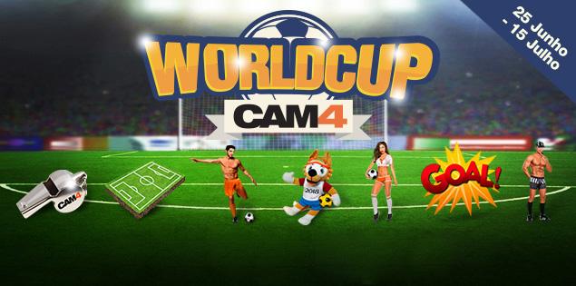 Novos Presentes Copa do Mundo no CAM4