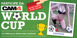 Shows Especiais Copa do Mundo no CAM4 -CAM4 WORLD CUP