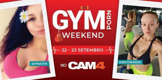 Maratona de Shows GYMPORN este final de semana , vamos suar muito no CAM4!