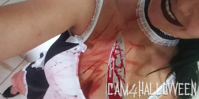 CAM4Halloween – Todas as fotos das fantasias mais sexy de Halloween!