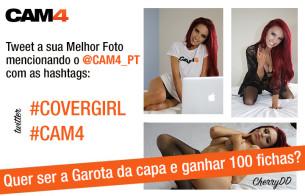 Ajude-nos escolher a Próxima Covergirl do CAM4