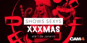 CAM4 XXXMas party: Shows Sexy de Natal ao vivo até 1º de Janeiro!