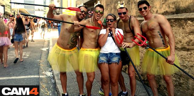 CAM4 no Carnaval da Ilha da Magia