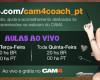 Calendário Mensal de Treinamento gratuito para Modelos de Webcam – Agosto