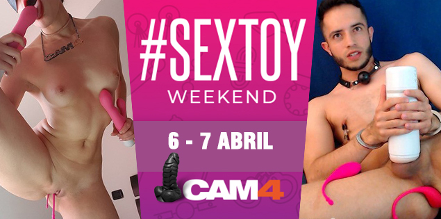SEX TOY Party no CAM4 este fim de semana!
