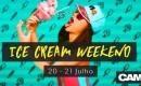 Muitas Lambidas e Jogos Sexy esse fim de semana no CAM4 com o Ice Cream Weekend!